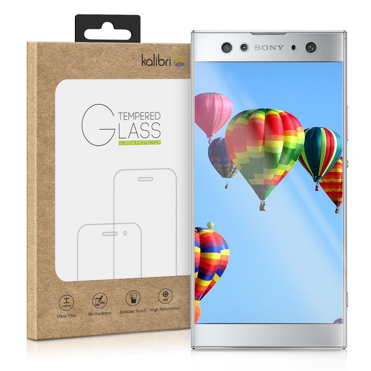 Skleněné pouzdro | obal pro Sony Xperia XA2 Ultra - průhledné rámeček