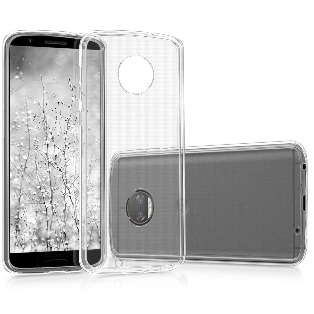 Kvalitní silikonové TPU pouzdro | obal pro Motorola Moto G6 - Transparentní