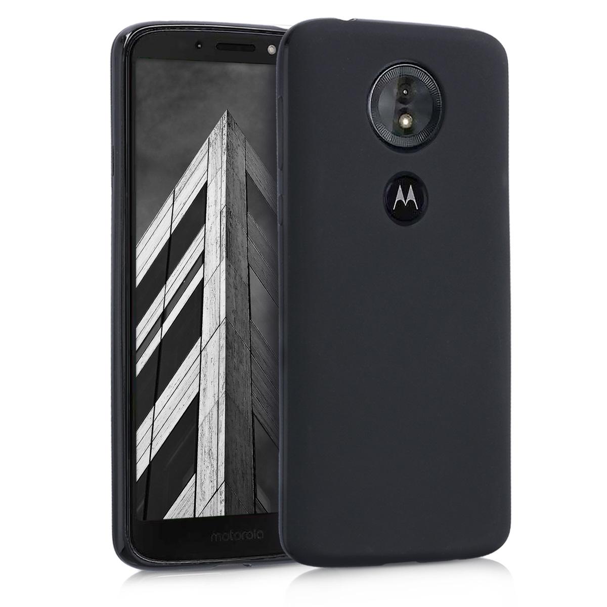 Kvalitní silikonové TPU pouzdro | obal pro Motorola Moto G6 Play - Černá matná