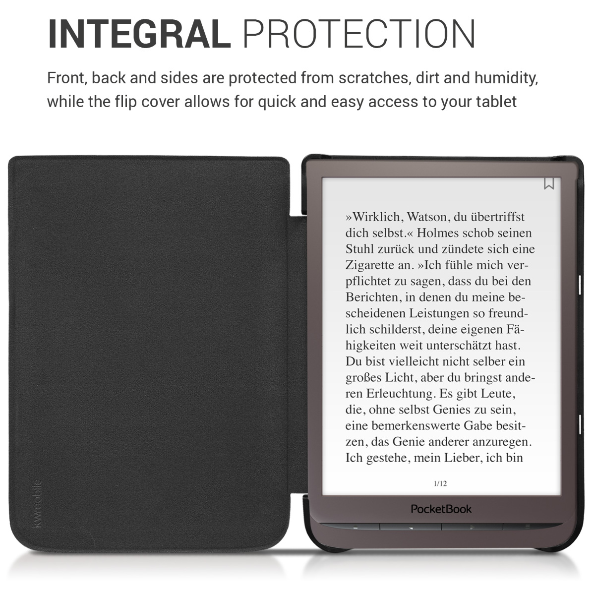 Details about Slim PU Leather Case Cover for Pocketbook InkPad 3 3 Pro
