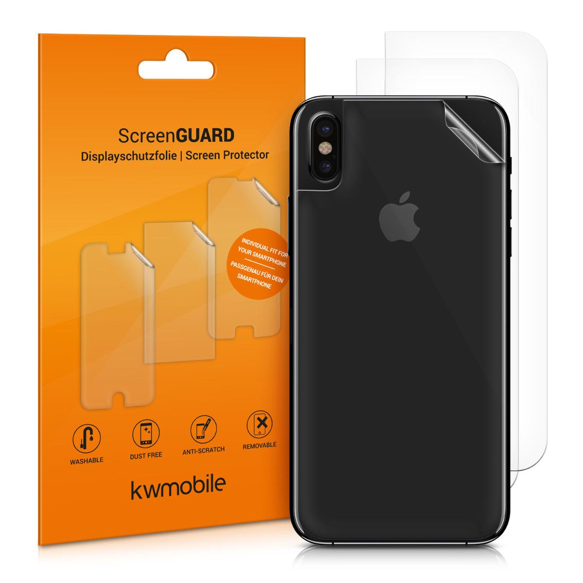 3x folie na display / screenprotector pro  Apple iPhone X