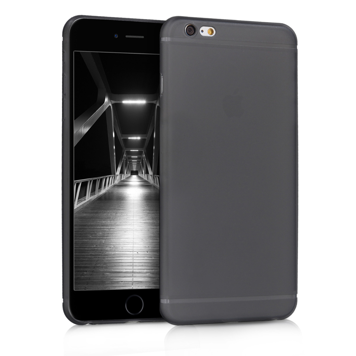 Kvalitní plastové pouzdro pro Apple iPhone 6 Plus / 6S - Černá