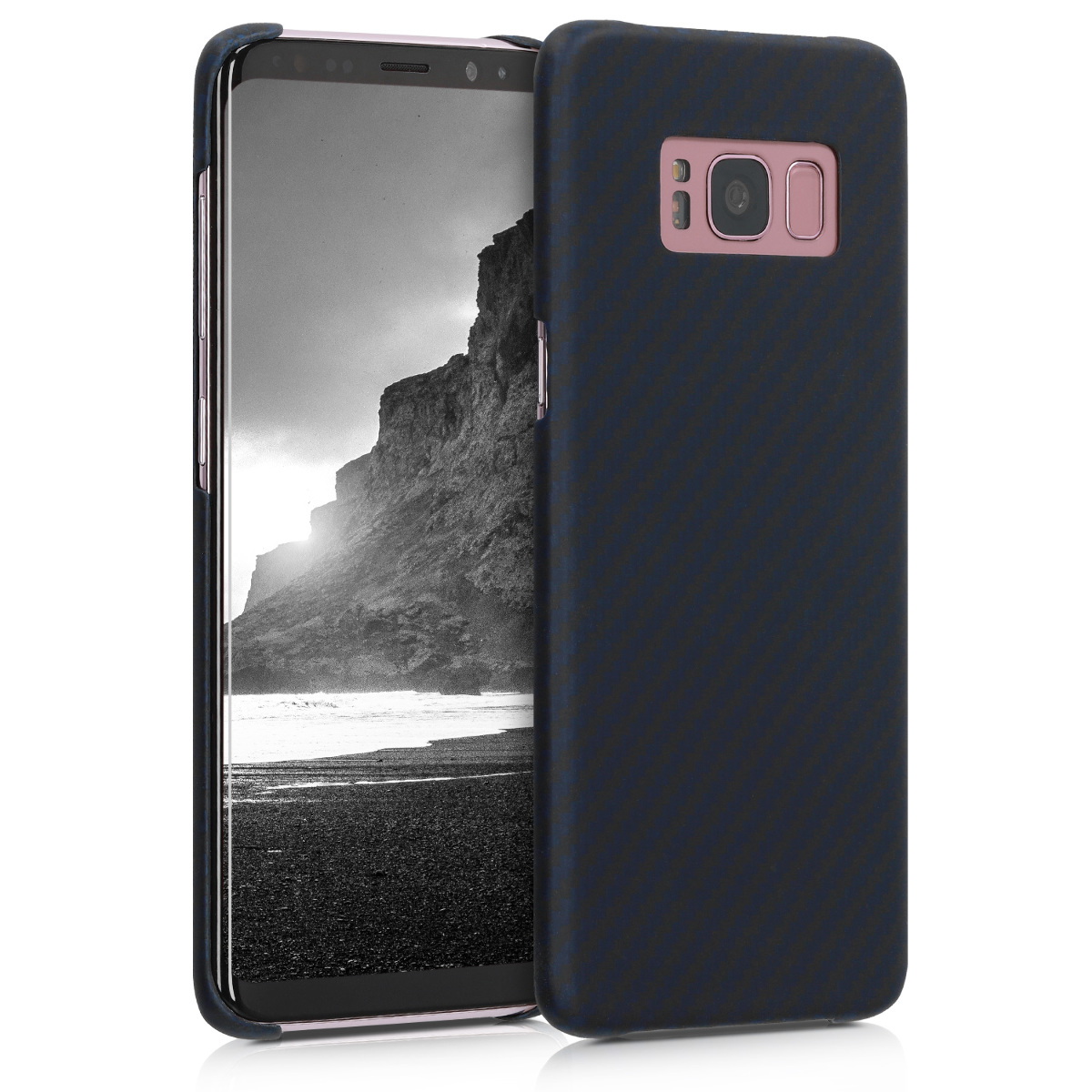 Aramidpouzdro pro Samsung S8 - tmavě modré