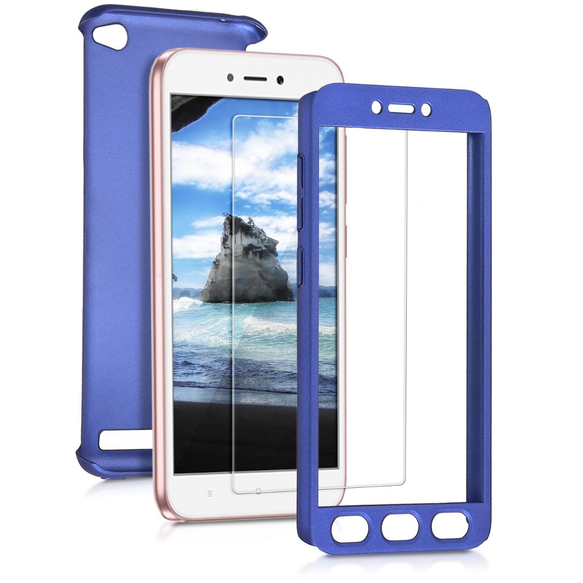 Kvalitní plastové pouzdro | obal pro Xiaomi Redmi 5A - modrý metalíza