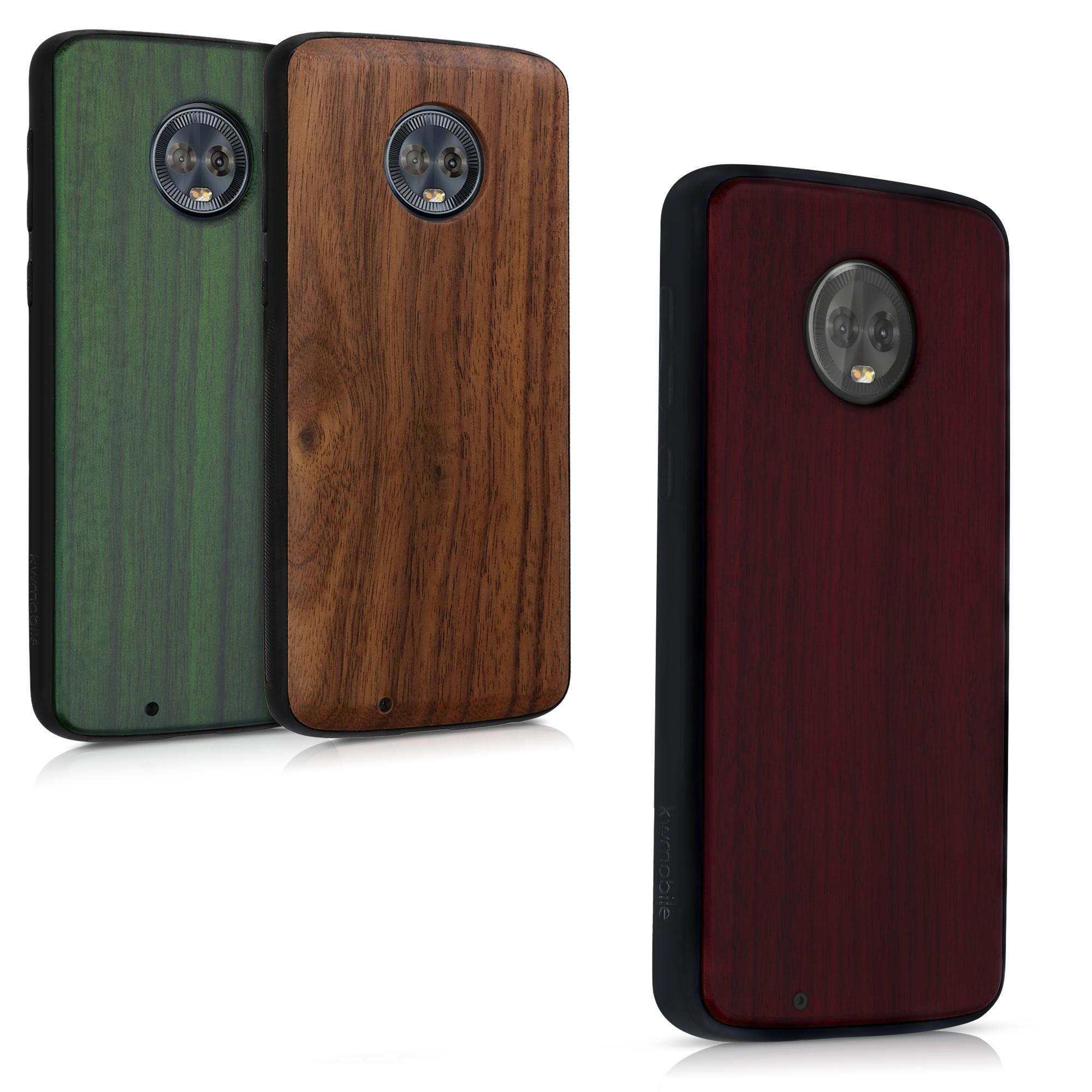 huge selection of 94486 1c933 Подробные сведения о Защитная крышка для Motorola Moto G6 желаемого цвета  деревянный ...