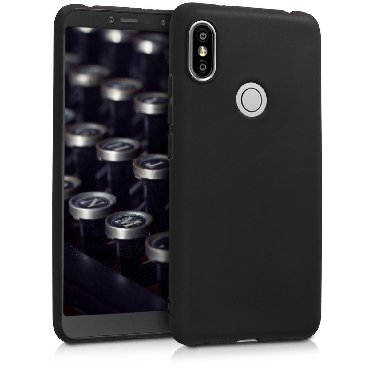 Kvalitní silikonové TPU pouzdro | obal pro Xiaomi Redmi S2 | Redmi Y2 - černý matný