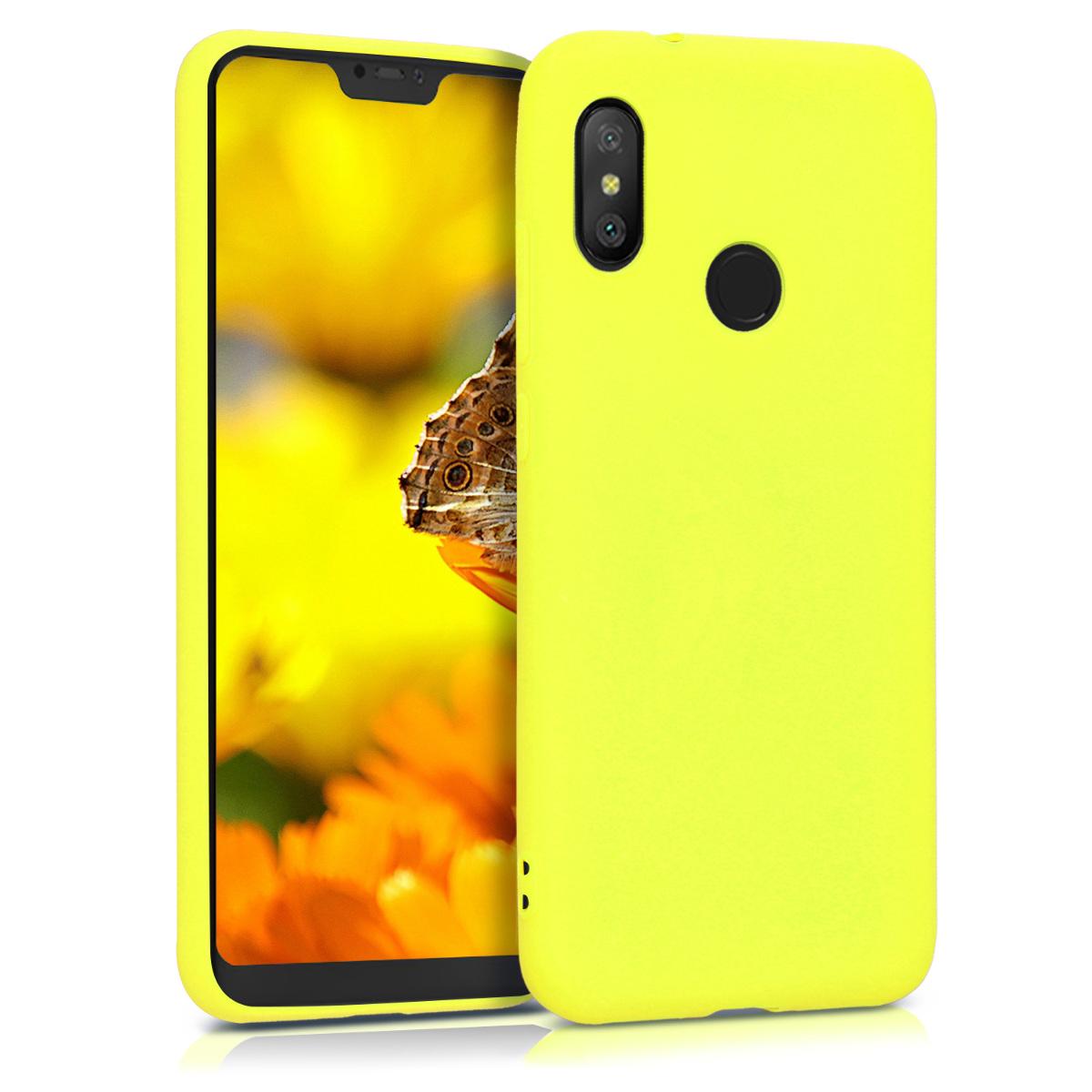 Kvalitní silikonové TPU pouzdro | obal pro Xiaomi Redmi 6 Pro | Mi A2 Lite - Lemon žluté