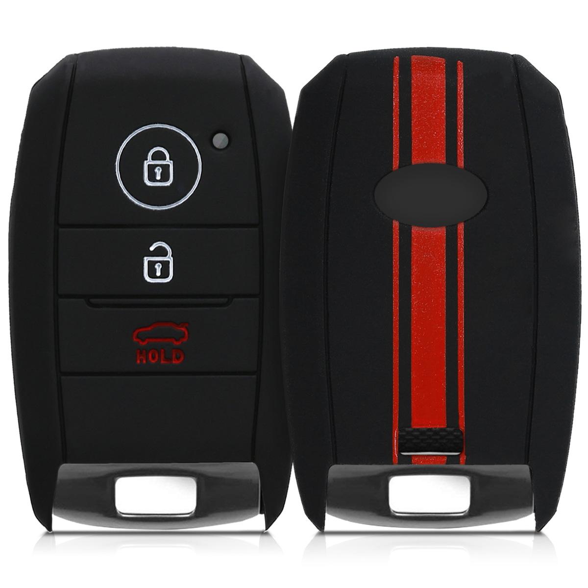 Hülle für Kia Autoschlüssel Silikon Schlüssel Schutzhülle Schlüsselgehäuse Auto
