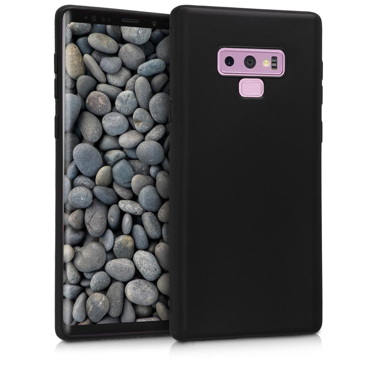 Kvalitní silikonové TPU pouzdro pro Samsung Note 9 - černé matné