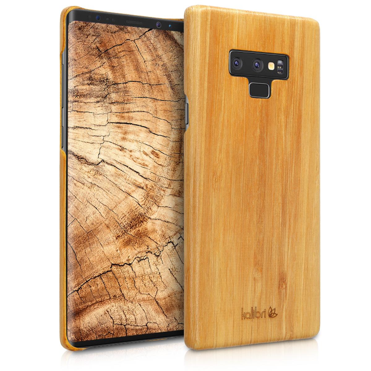 Světlé dřevěné pouzdro | obal pro Samsung Galaxy Note 9