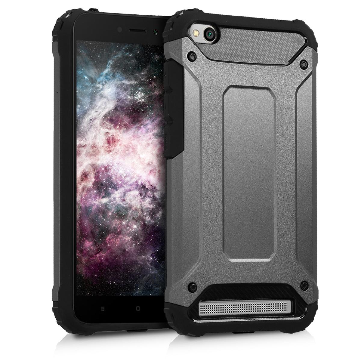 Kvalitní plastové pouzdro | obal pro Xiaomi Redmi 5A - Transformer Anthracite / černý