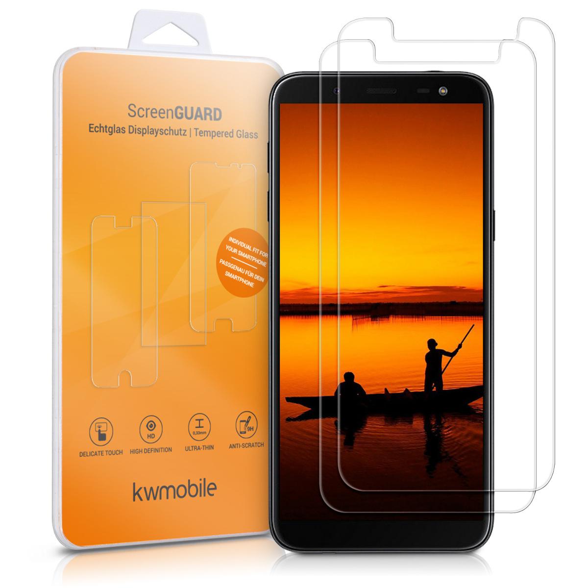 2x ochranné tvrzené sklo na display pro Samsung Galaxy J6