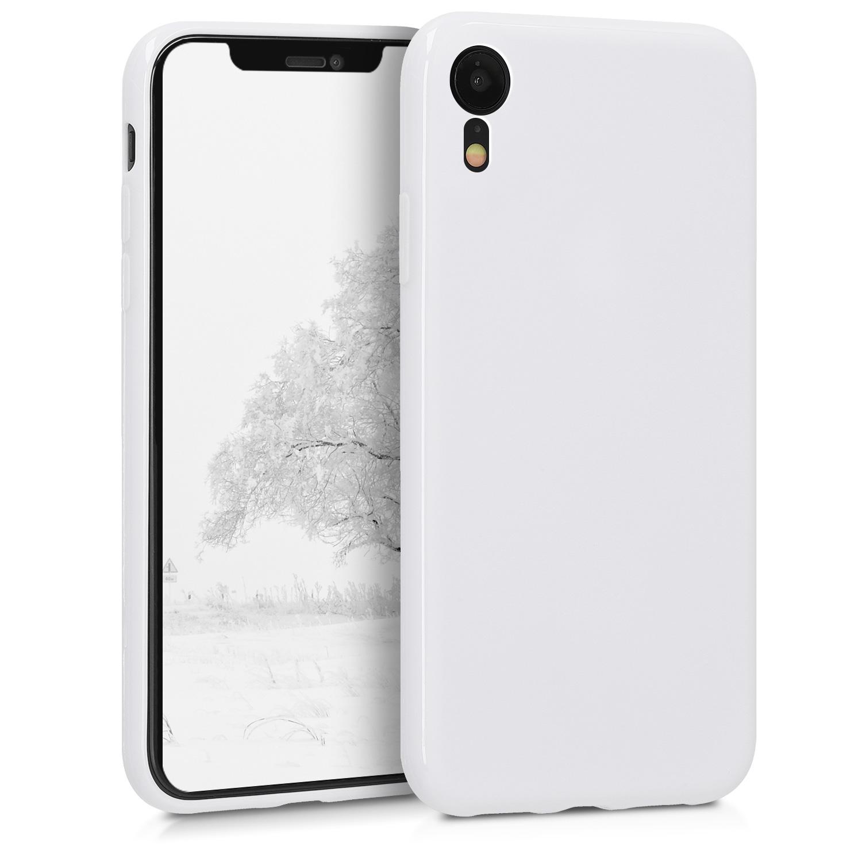 Kvalitní silikonové TPU pouzdro pro Apple iPhone XR - White Matte