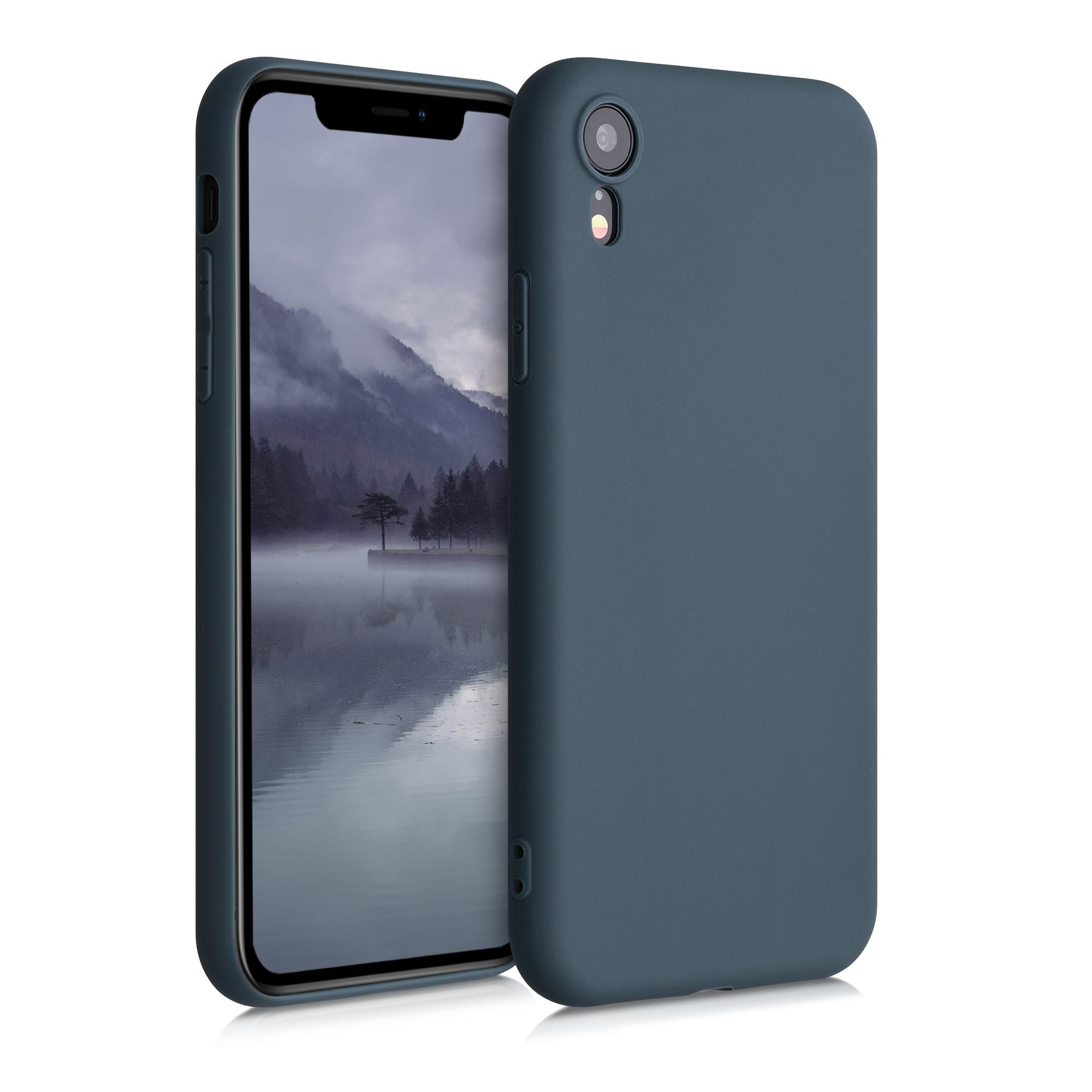 Kvalitní silikonové TPU pouzdro pro Apple iPhone XR - Šedá břidlice