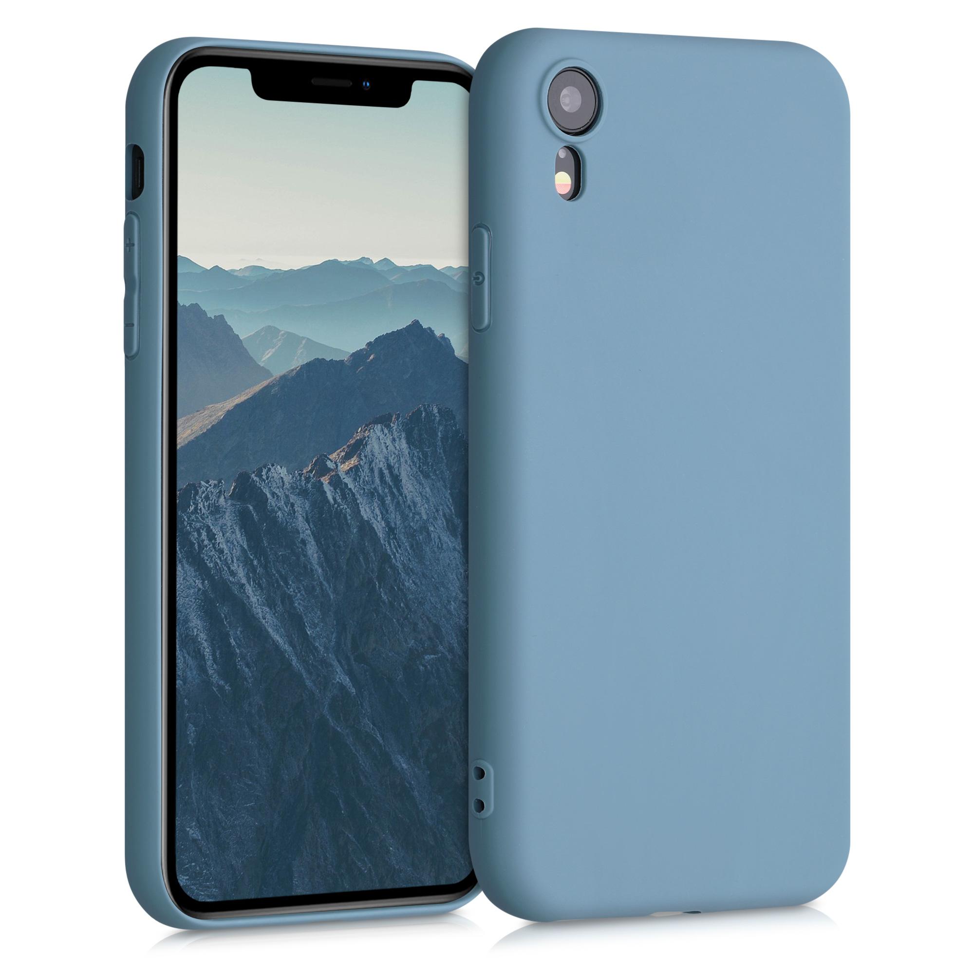 Kvalitní silikonové TPU pouzdro pro Apple iPhone XR - Arctic Modrá