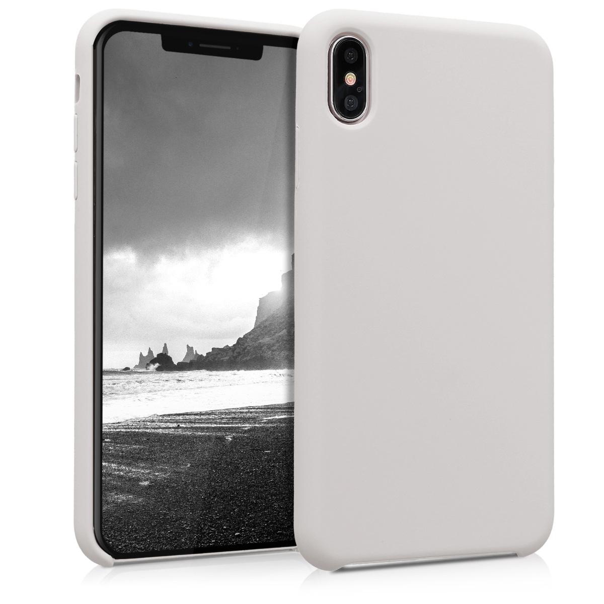 Kvalitní silikonové TPU pouzdro pro Apple iPhone XS Max - Béžový
