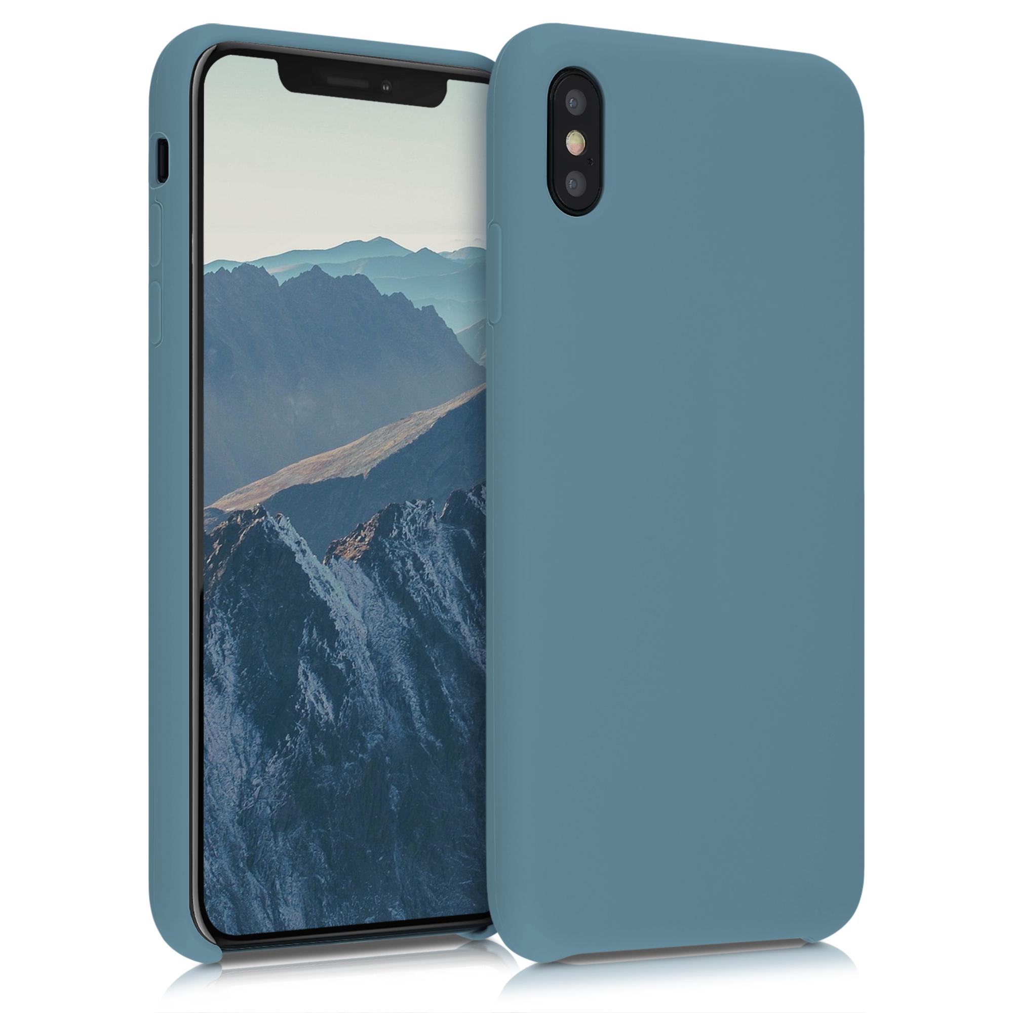 Kvalitní silikonové TPU pouzdro pro Apple iPhone XS Max - Arctic Modrá