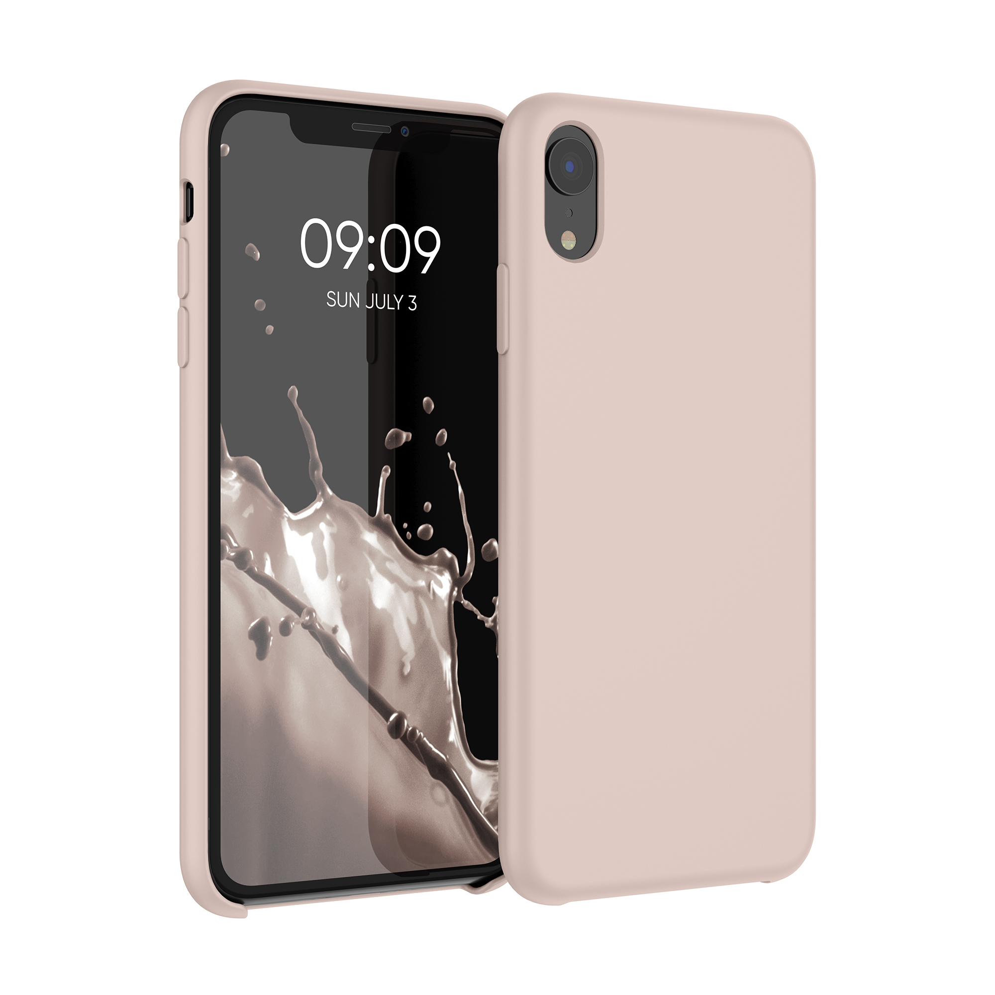 Kvalitní silikonové TPU pouzdro pro Apple iPhone XR - Dusty Pink