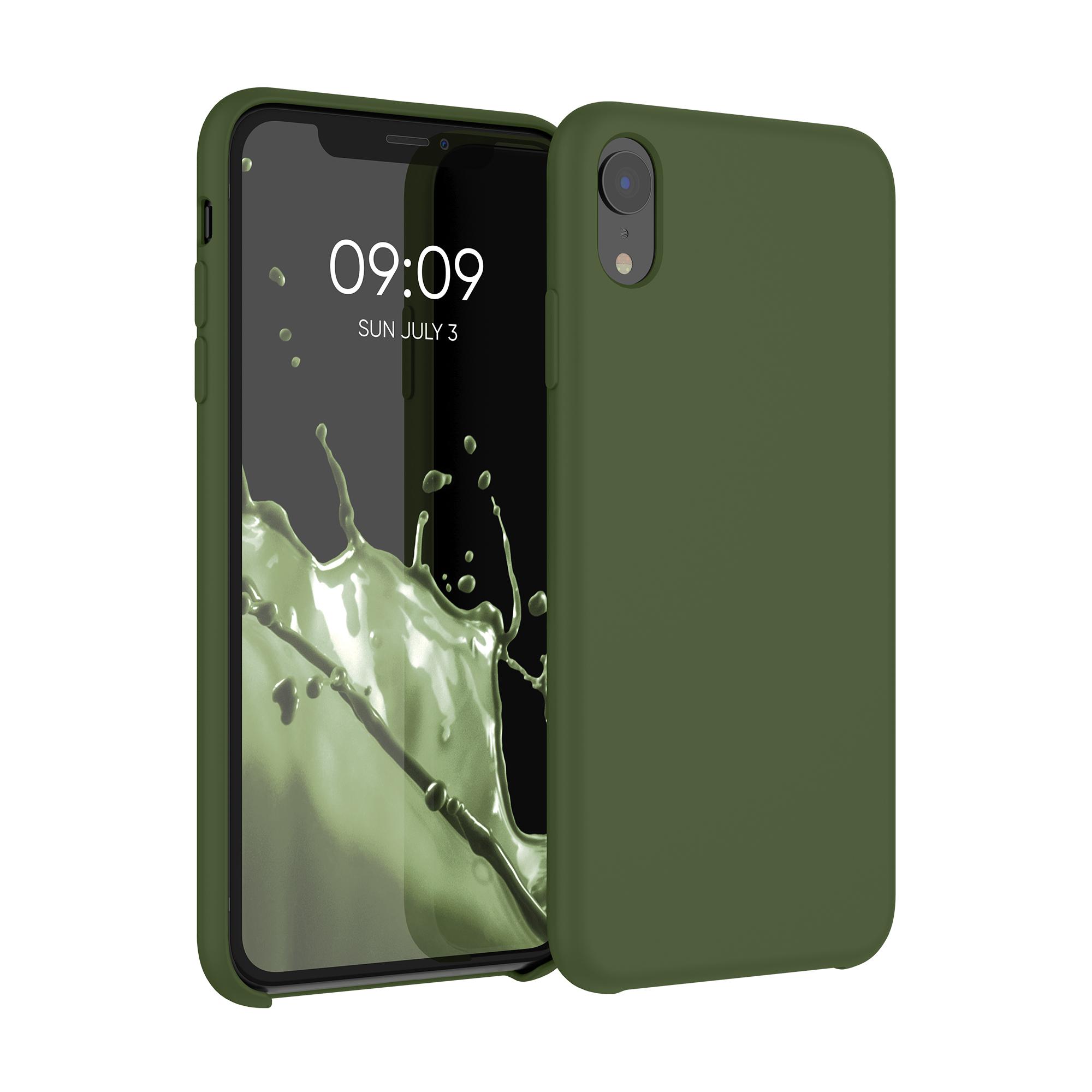 Kvalitní silikonové TPU pouzdro pro Apple iPhone XR - pesto Green