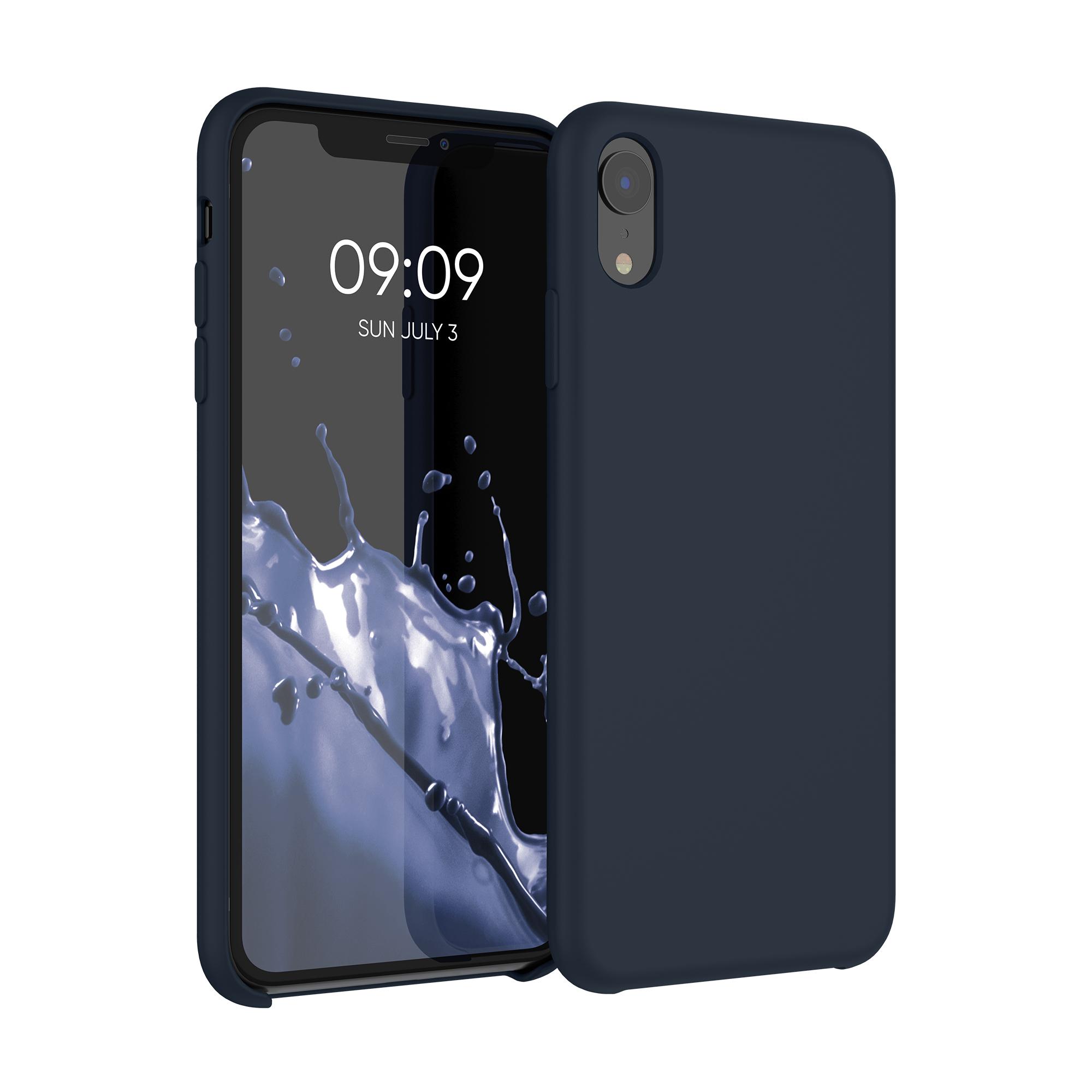 Kvalitní silikonové TPU pouzdro pro Apple iPhone XR - Borůvka