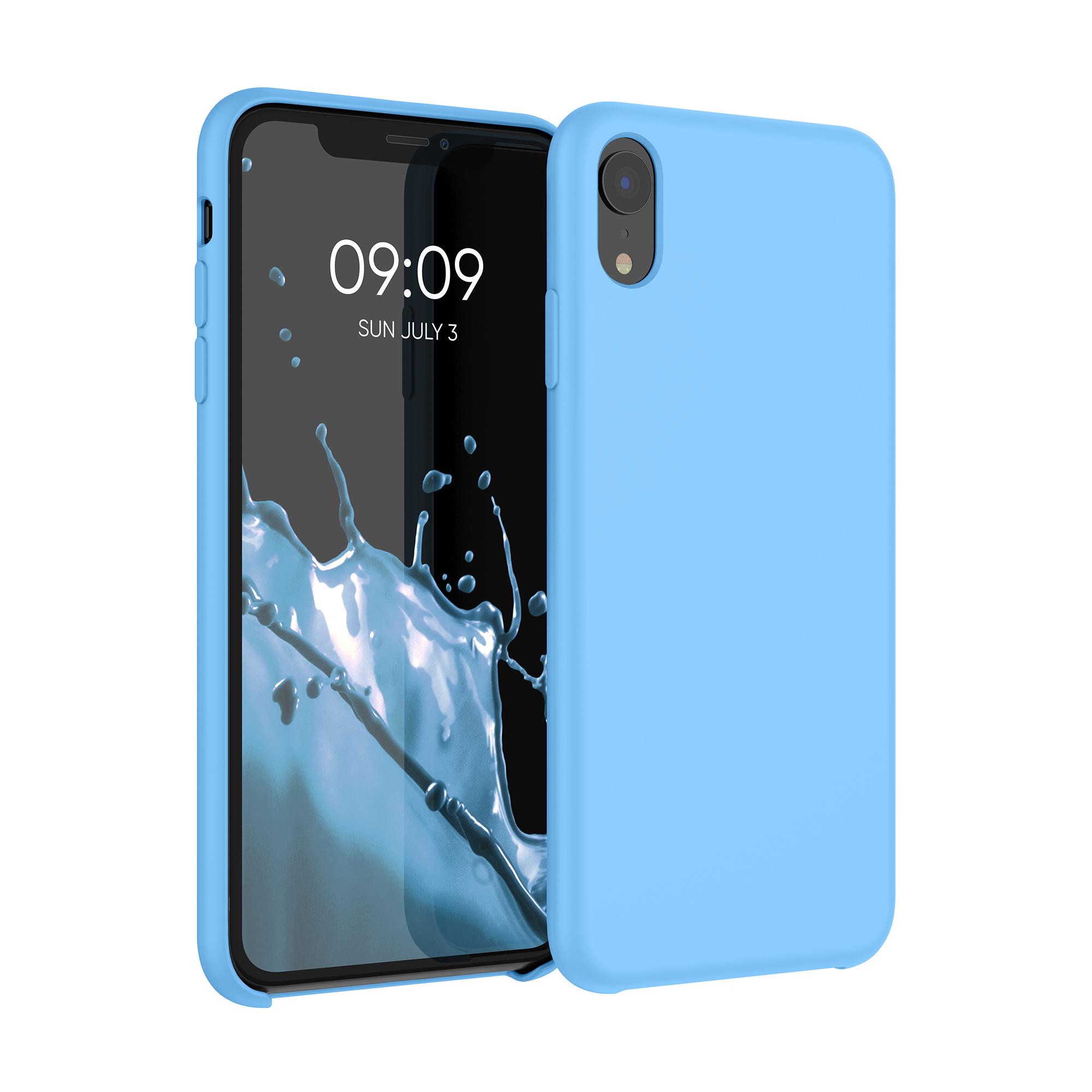 Kvalitní silikonové TPU pouzdro pro Apple iPhone XR - dědictví Modrá