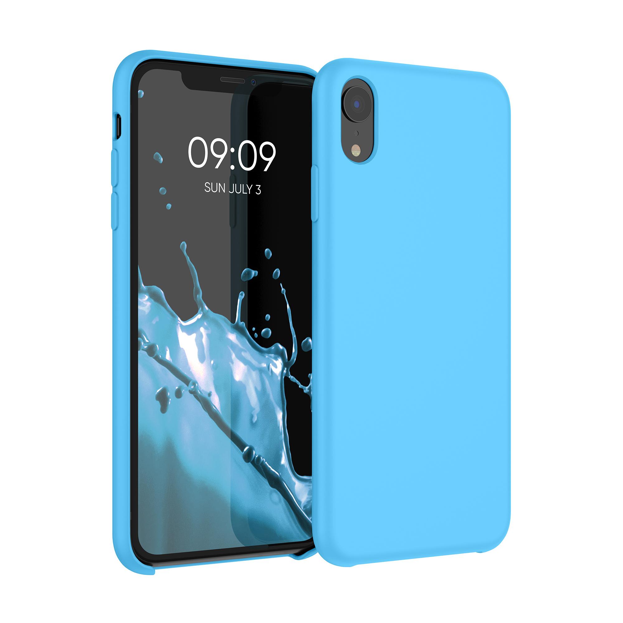 Kvalitní silikonové TPU pouzdro pro Apple iPhone XR - Světle modrá
