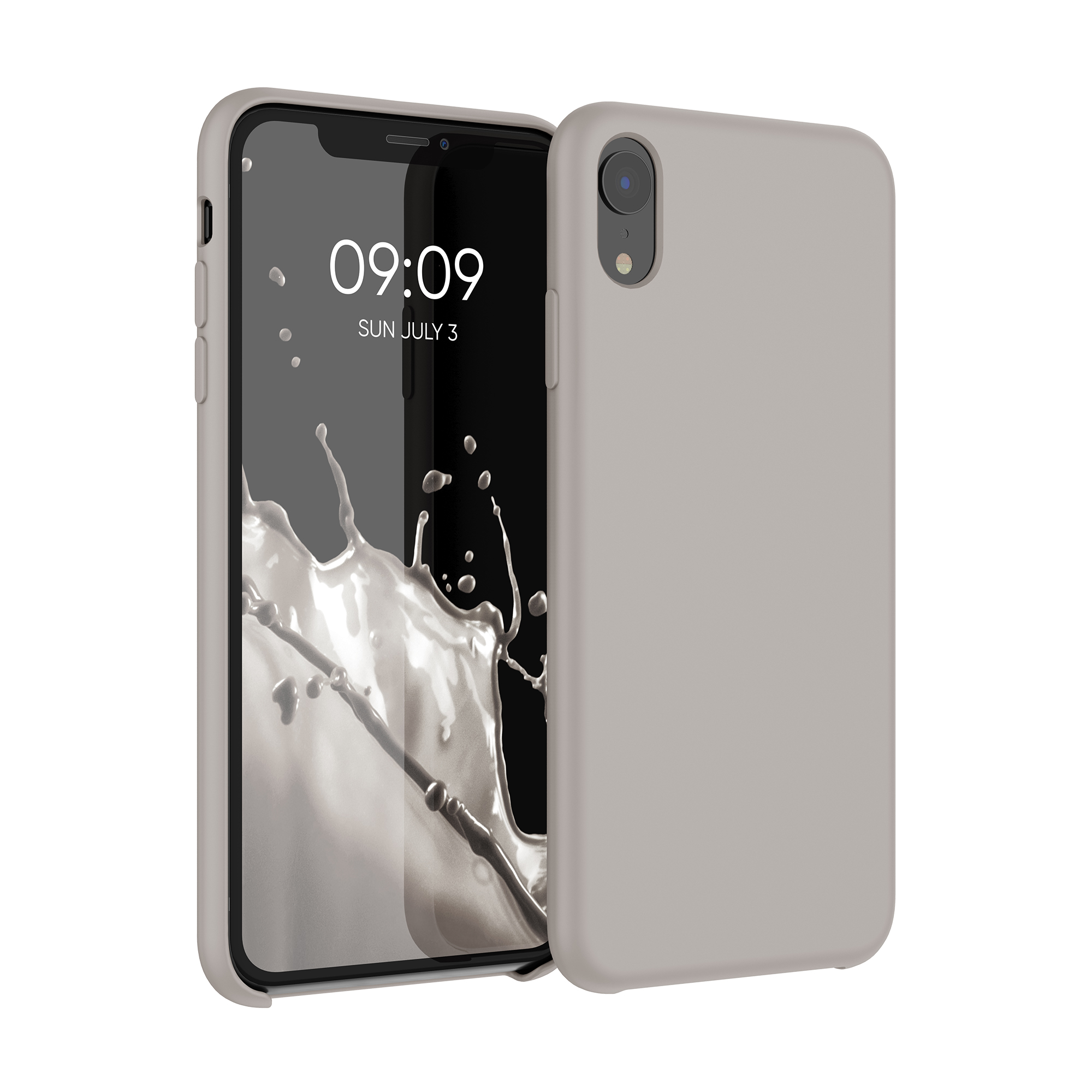 Kvalitní silikonové TPU pouzdro pro Apple iPhone XR - tmavošedý