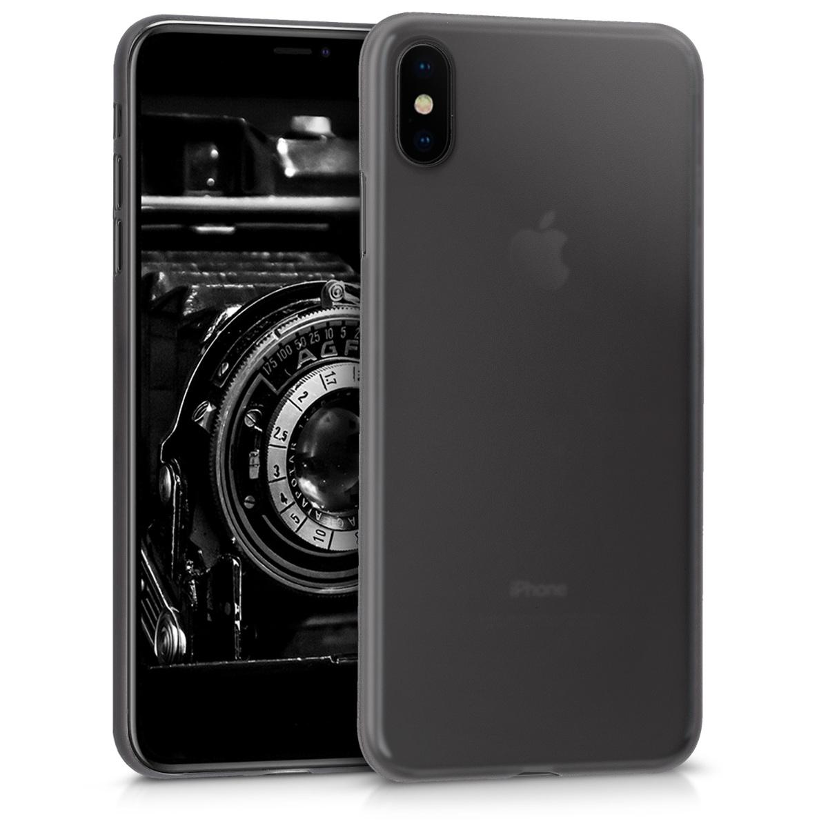Kvalitní plastové pouzdro pro Apple iPhone XS Max - Černá