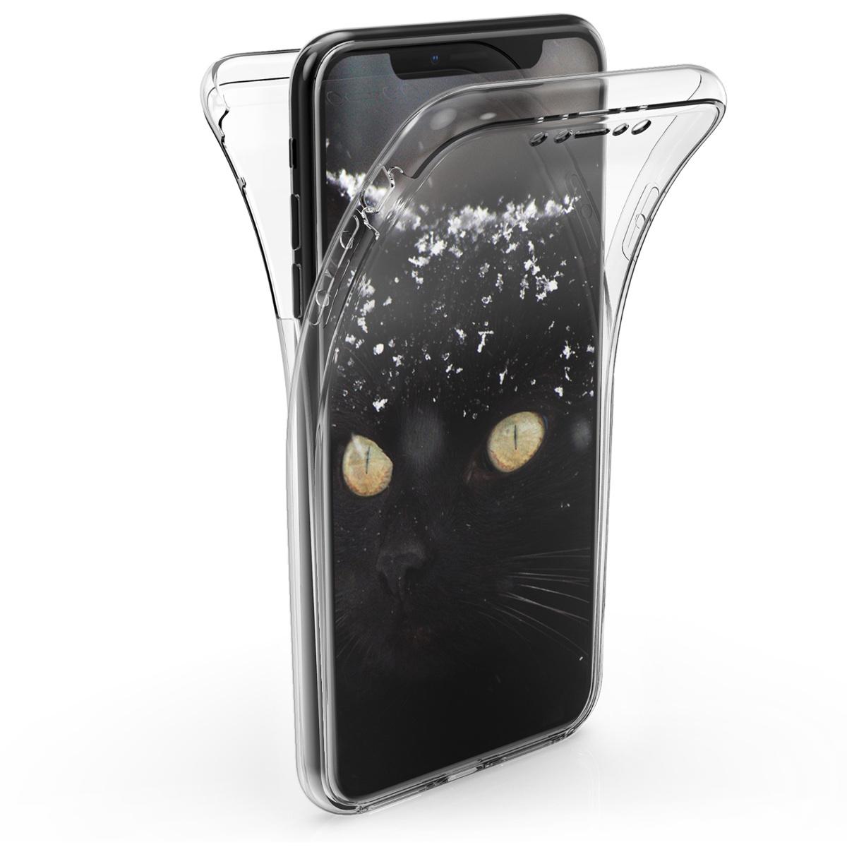 Kvalitní silikonové TPU pouzdro pro Apple iPhone XS Max - Průhledný