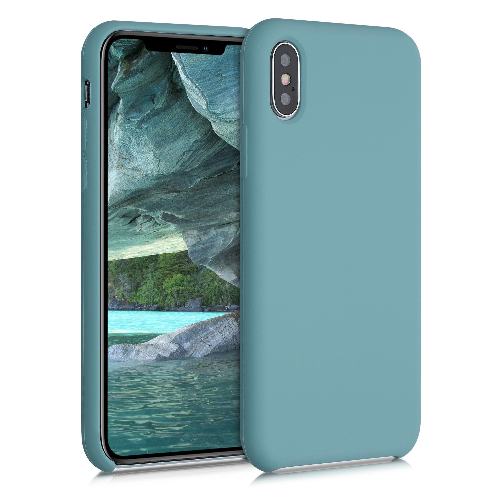 Kvalitní silikonové TPU pouzdro pro Apple iPhone XS - Arctic Modrá
