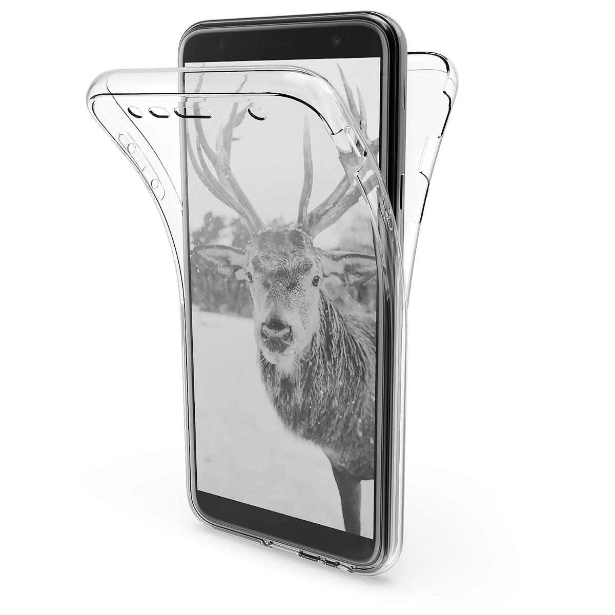 Kvalitní silikonové TPU pouzdro pro Samsung J4+ | J4 Plus DUOS - průhledné