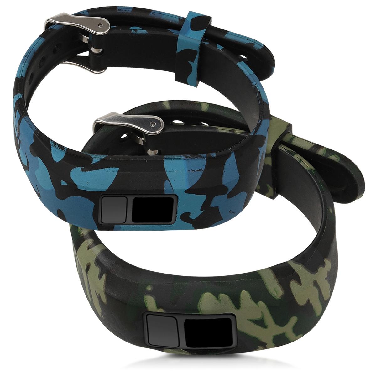 2x Sportarmband für Garmin Vivofit jr 2 Fitnesstracker TPU Smartwatch Band jr