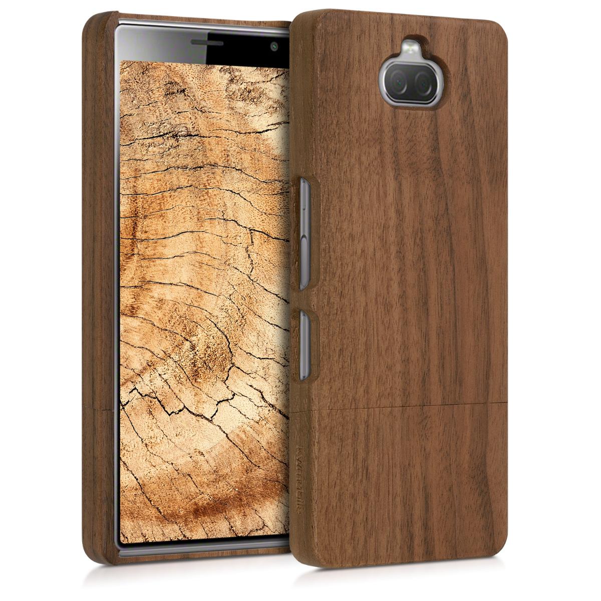 Dřevěné pouzdro | obal pro Sony Xperia 10 -