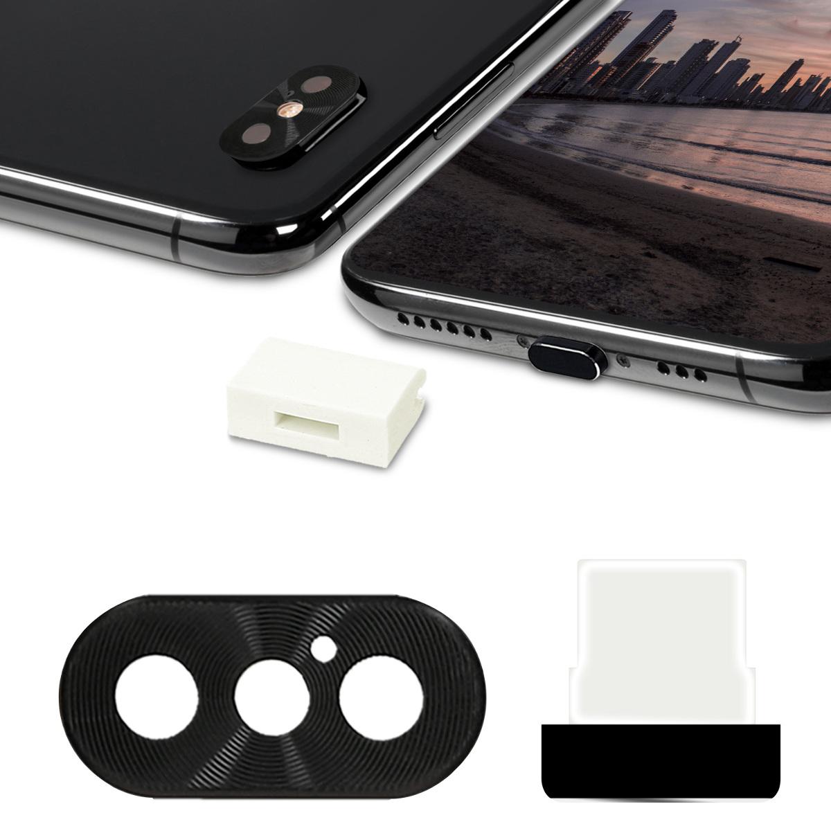 Kvalitní plastové pouzdro pro Apple iPhone XS - Černá