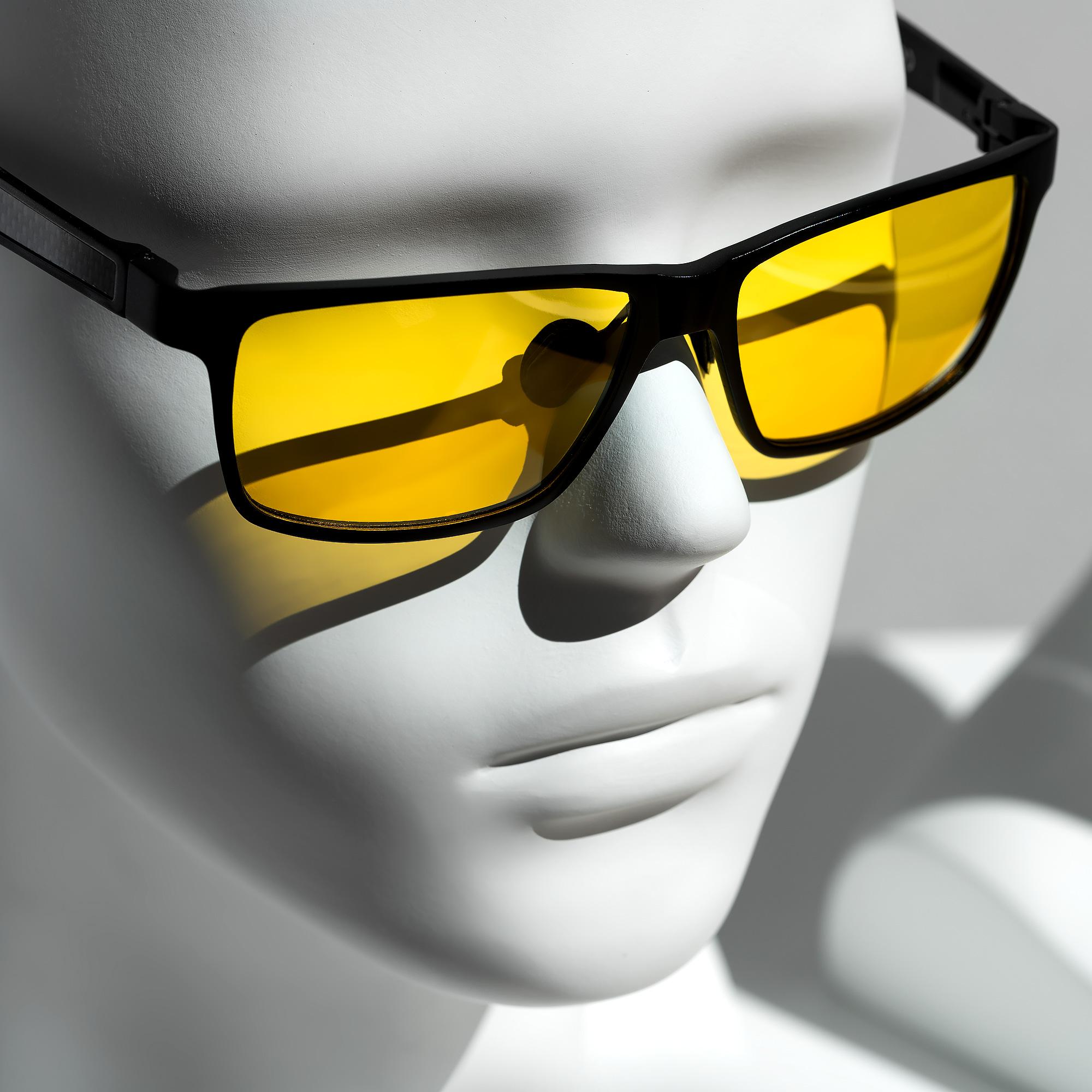 nacht brille nachtsichtbrille zum autofahren herren damen. Black Bedroom Furniture Sets. Home Design Ideas