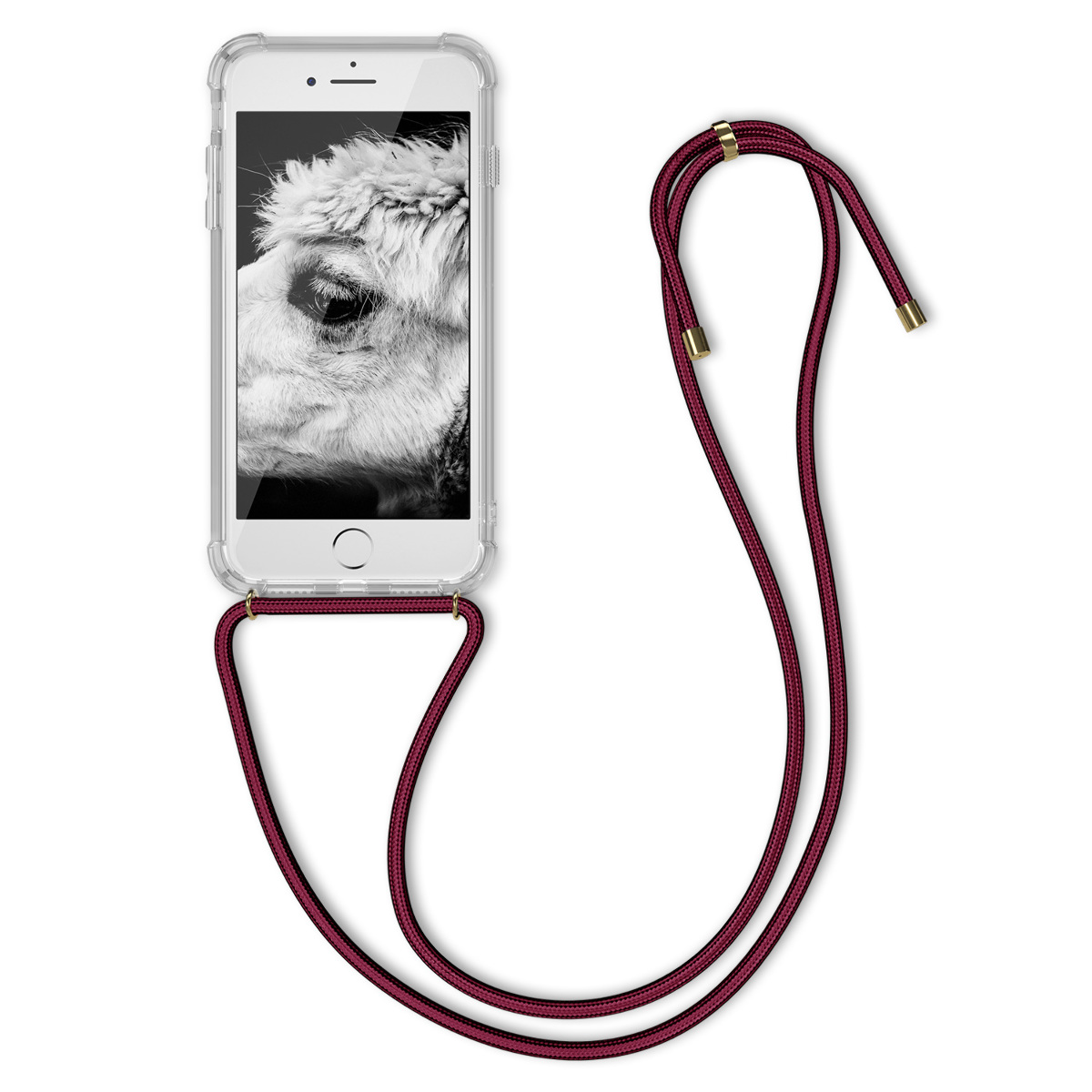 low priced 6da6a 6fb64 Details about Crossbody Case for Apple iPhone 7 8 with Neck Lanyard Strap