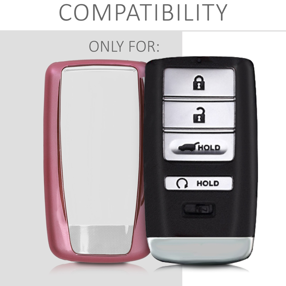 Car Key Fob Cover For Acura TPU Case Protective Cover