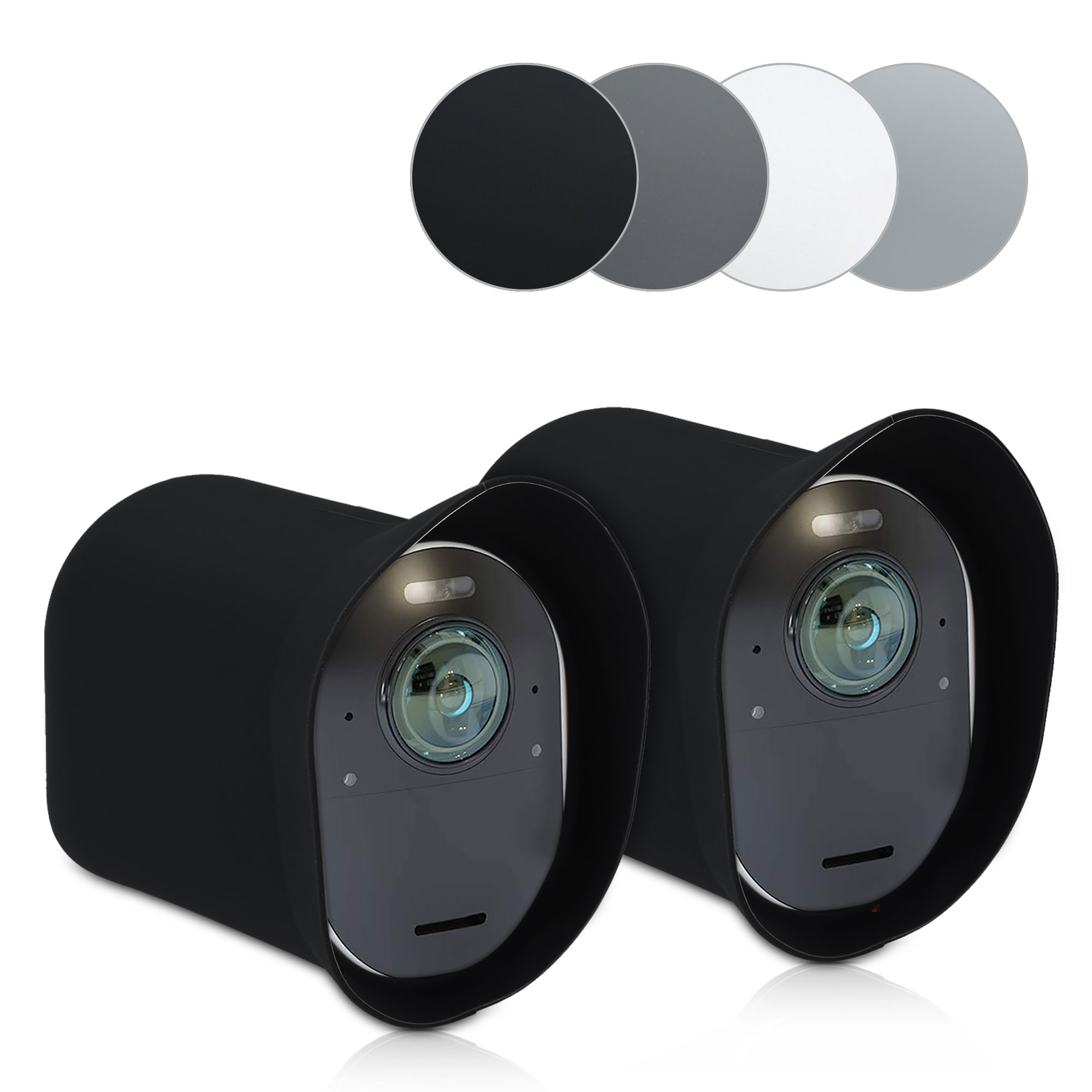 Silikon Security Camera Cover Schutzh/ülle f/ür Arlo Ultra Kamera kwmobile 2X Arlo Ultra H/ülle