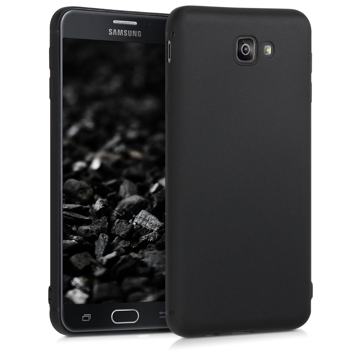 Kvalitní silikonové TPU pouzdro pro Samsung On7 Prime | On Nxt - černé matné
