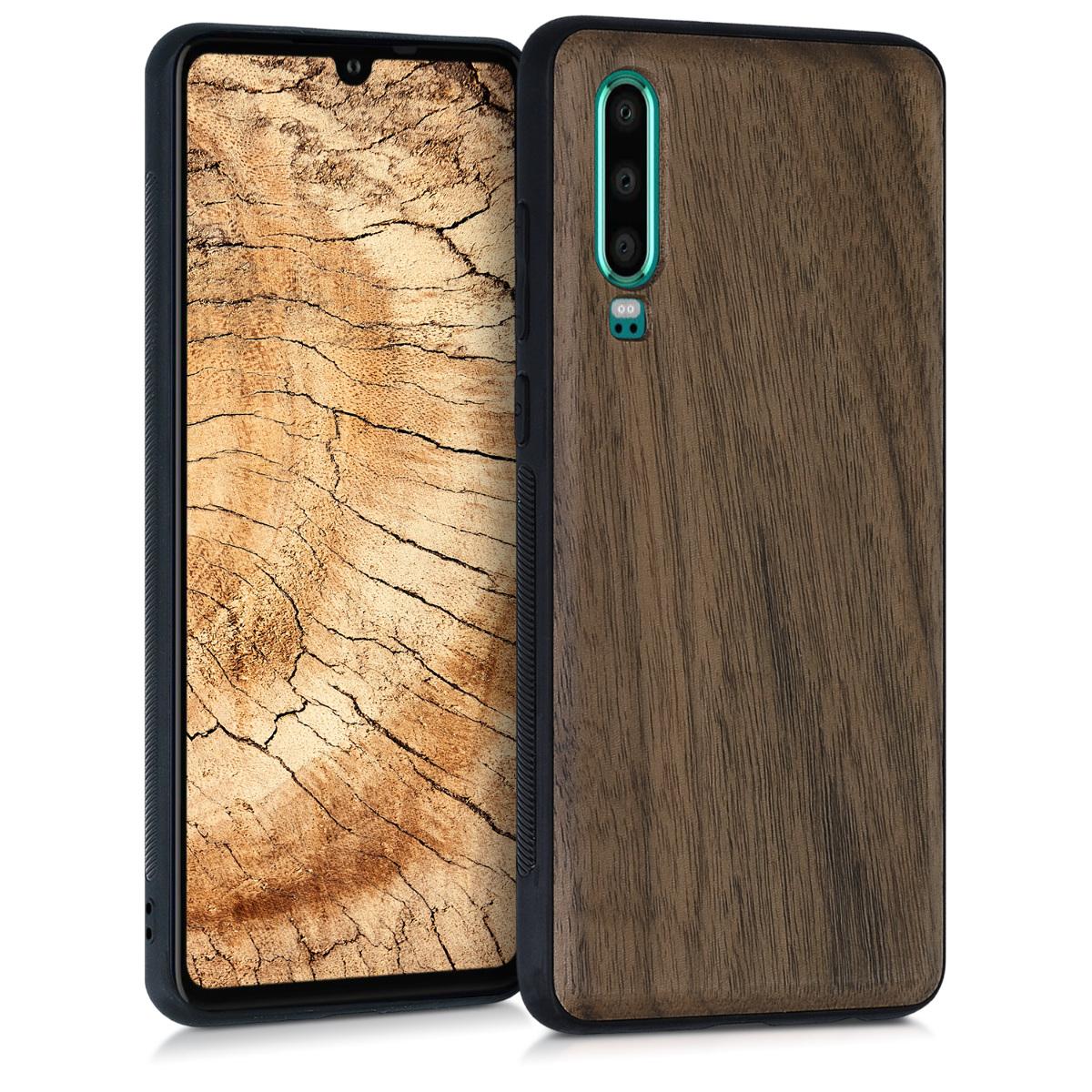 Dřevěné pouzdro pro Huawei P30