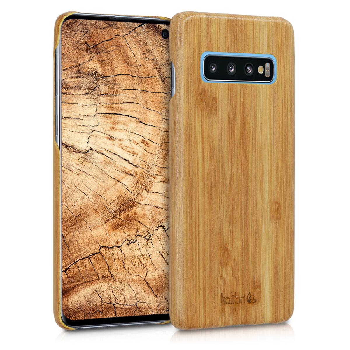 Dřevěné pouzdro / obal for Samsung Galaxy S10