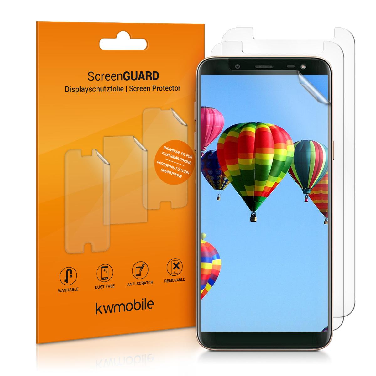 3x ochranná fólie na displej pro Samsung Galaxy J6