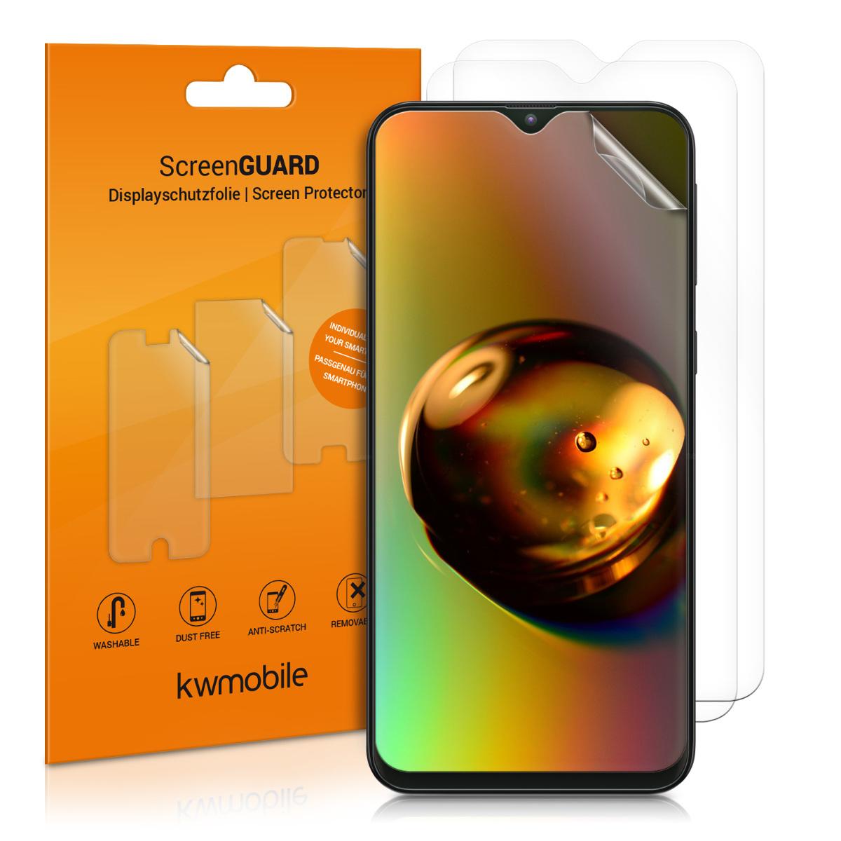 3x ochranná fólie na displej pro Samsung Galaxy M20 (2019)