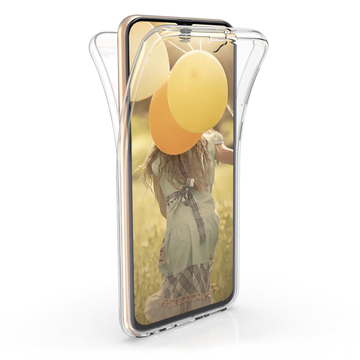 Kvalitní silikonové TPU pouzdro pro Samsung A40 - průhledné