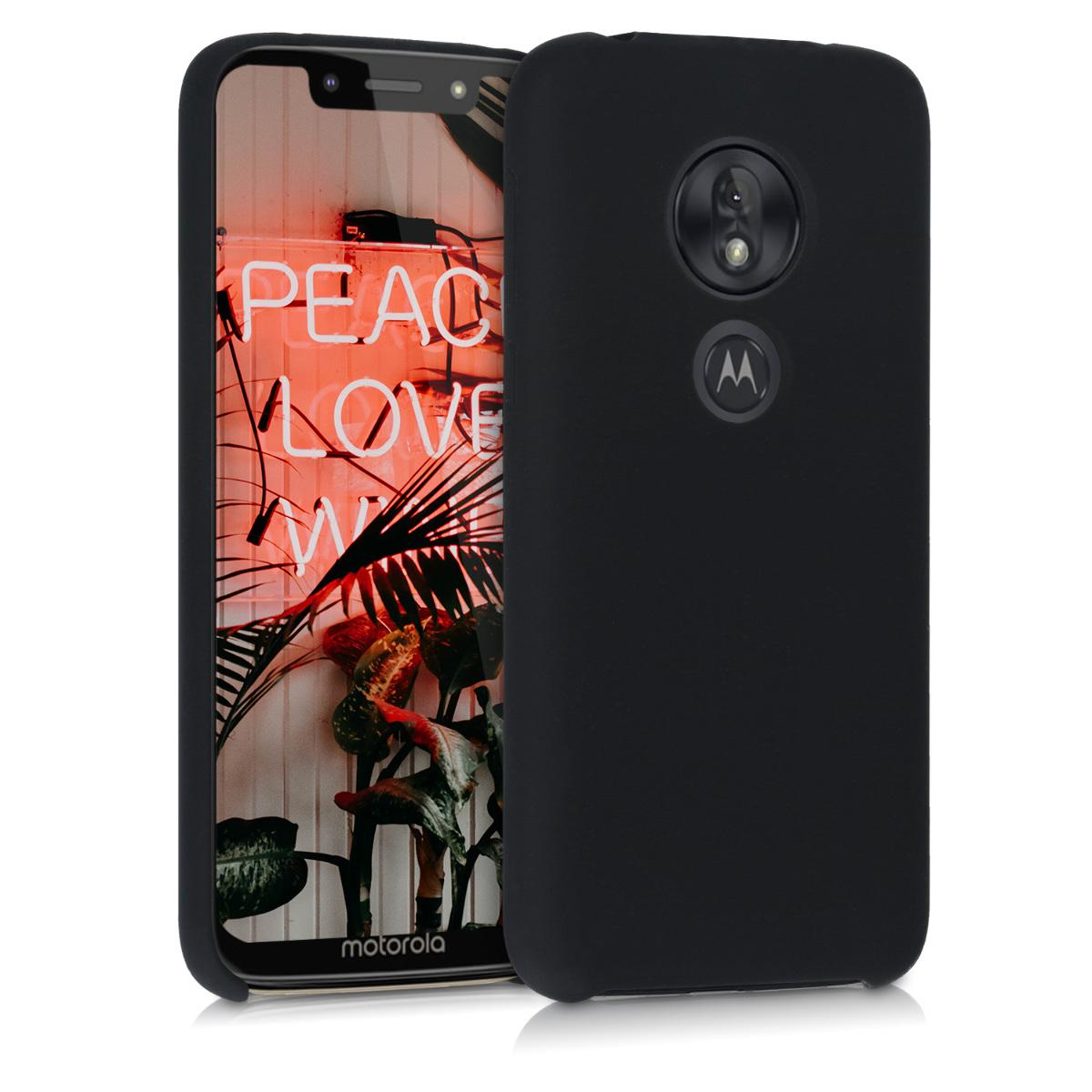 Kvalitní silikonové TPU pouzdro   obal pro Motorola Moto G7 Play (EU-Version) - Černá
