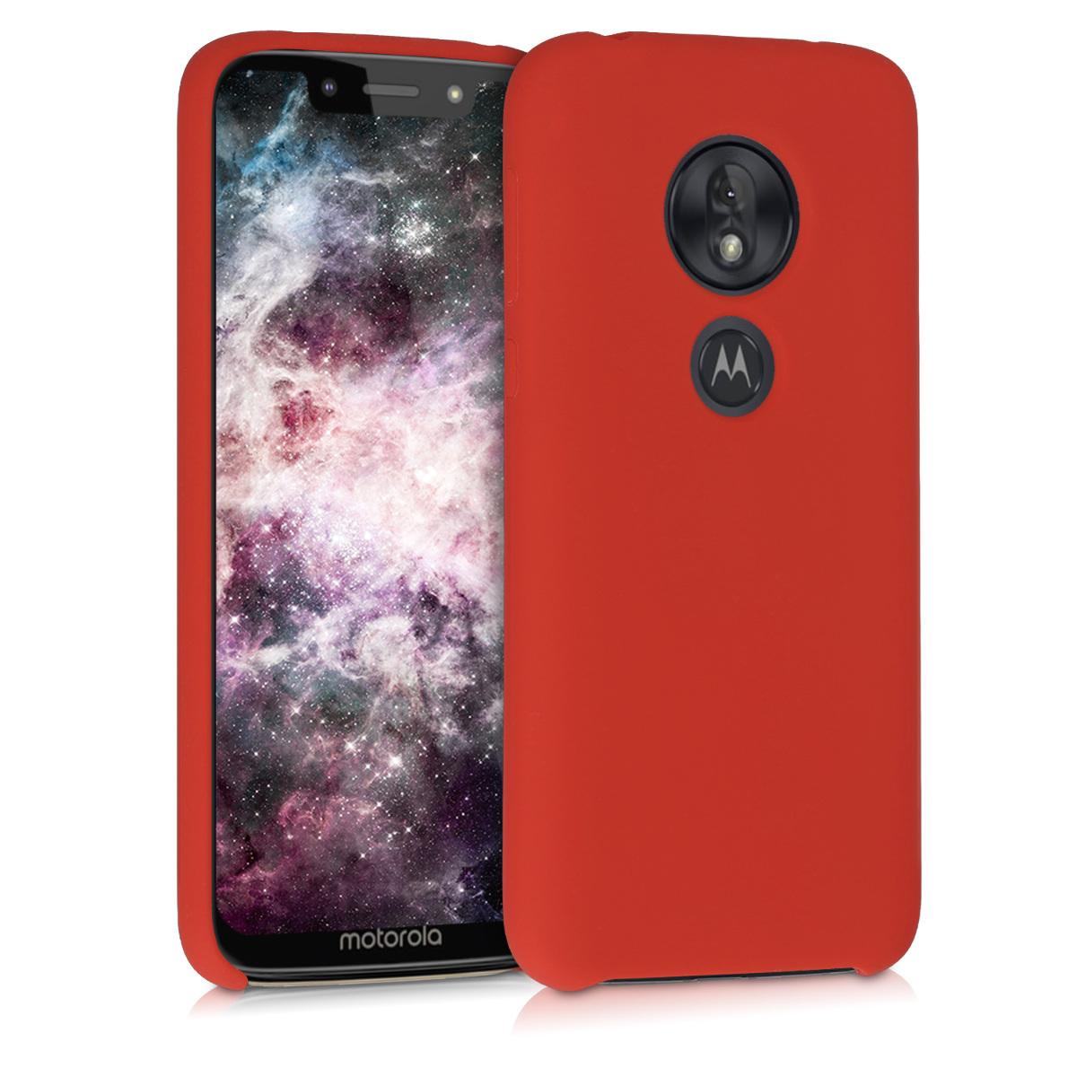 Kvalitní silikonové TPU pouzdro   obal pro Motorola Moto G7 Play (EU-Version) - Červená