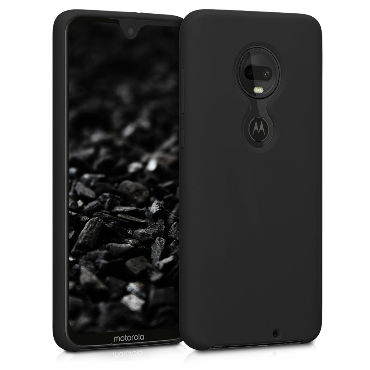 Kvalitní silikonové TPU pouzdro | obal pro Motorola Moto G7 / Moto G7 Plus - Černá