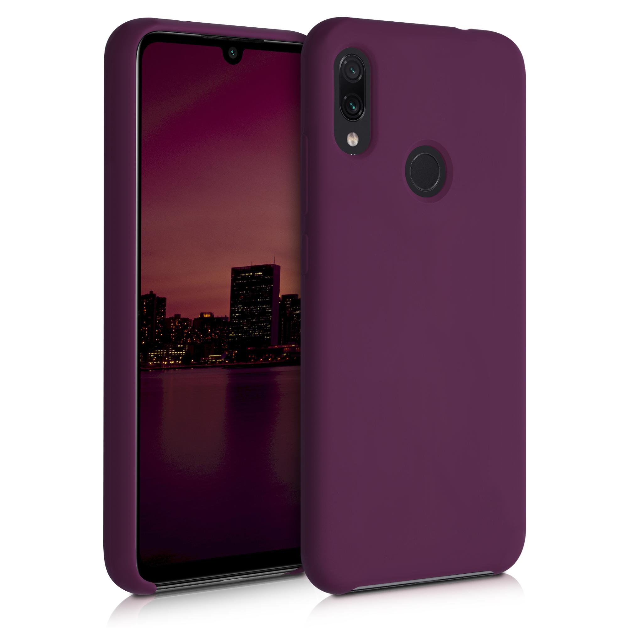 Kvalitní silikonové TPU pouzdro | obal pro Xiaomi Redmi Note 7 | Note 7 Pro - Bordeaux fialový