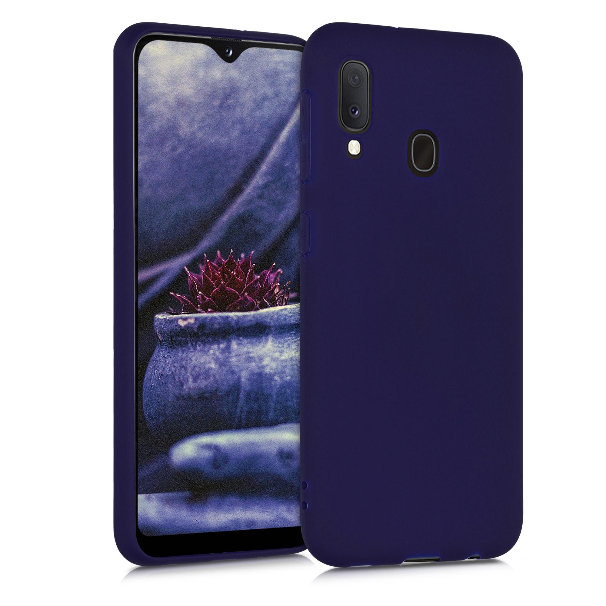 Kvalitní silikonové TPU pouzdro pro Samsung A20e - Hluboké modré moře