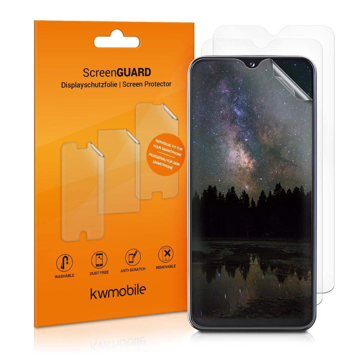 3x ochranná fólie na displej pro Samsung Galaxy A20e